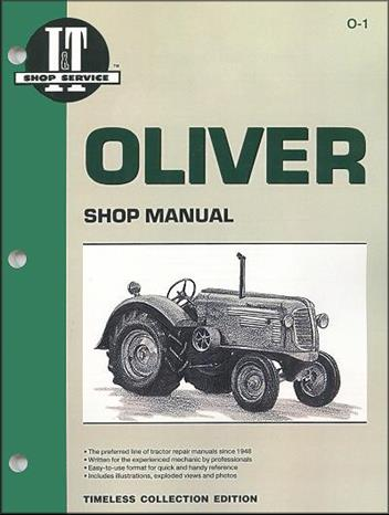 Oliver Farm Tractor Owners Service & Repair Manual