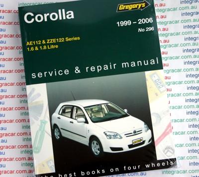 1999 toyota corolla repair manual pdf