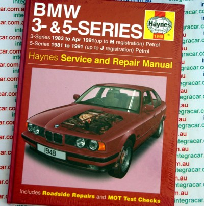 BMW 3-series 1983 - 1991 and BMW 5 -series 1981 to 1991 Haynes repair manual NEW