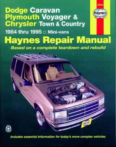 Chrysler Town Country 1984 1995 Haynes Service Repair Manual