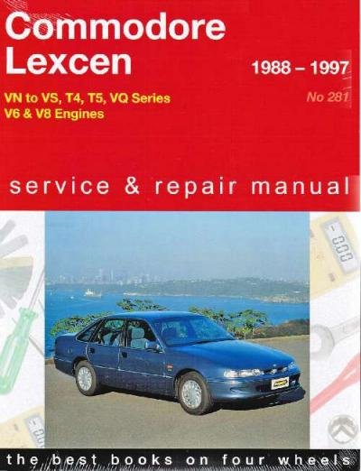 Commodore Lexcen VN to VS 1988 1997 Gregorys Service Repair Manual