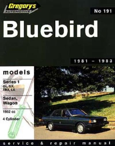 Datsun Bluebird Series 1 1981 1983 Repair Manual