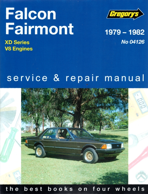 Ford Falcon XD 8 cyl 1979-1982 Gregorys Service Repair Manual