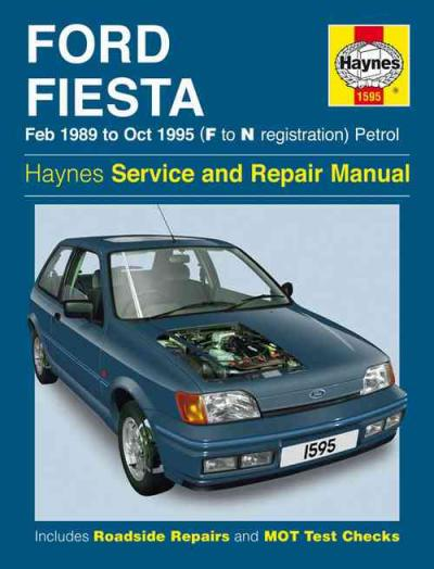 Ford Fiesta Petrol 1989 1995 Haynes Service Repair Manual