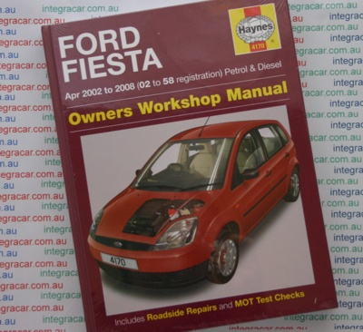 Ford Fiesta Petrol Diesel 2002 2008 Haynes Workshop Manual    UK