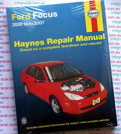 Ford Focus repair manual Haynes 2000 - 2007 NEW