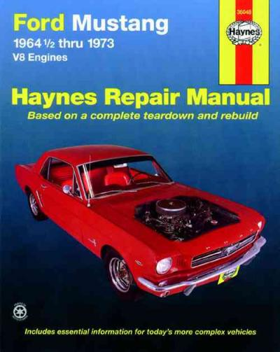 Ford Mustang V8 1964 1973 Haynes Service Repair Manual