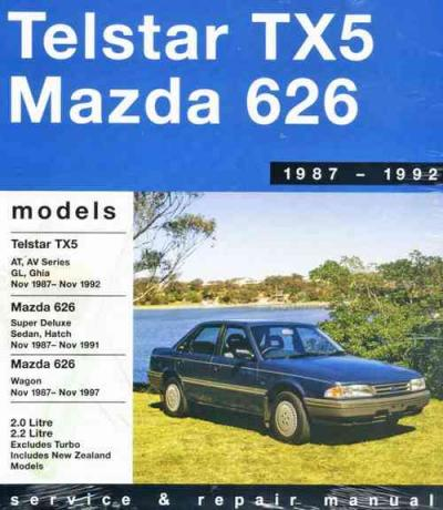 Ford Telstar TX5 Mazda 626 1987 1992 Gregorys Service Repair Manual
