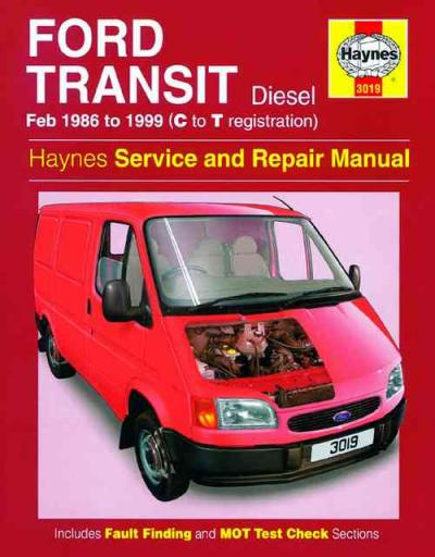 Ford Transit Diesel 1986 1999 Haynes Service Repair Manual    UK
