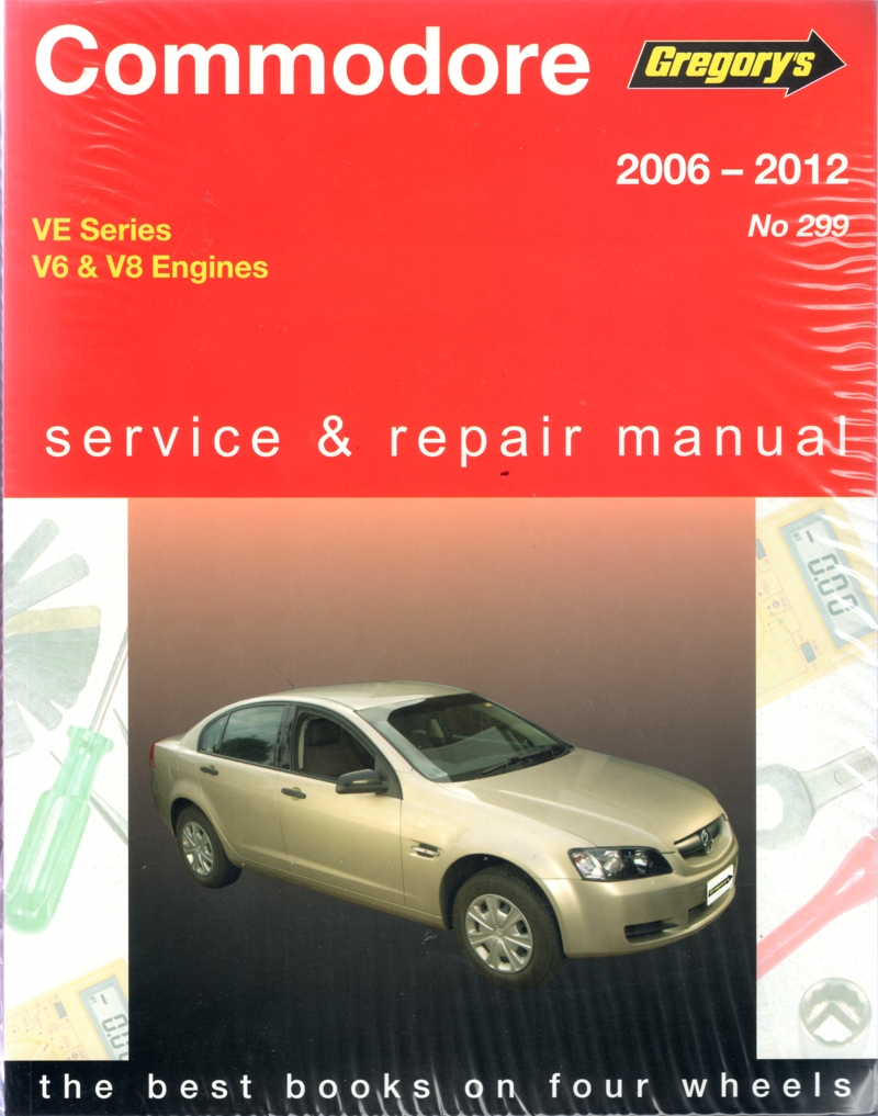Holden Commodore VE Series 2006-2012 Gregorys workshop repair Manual