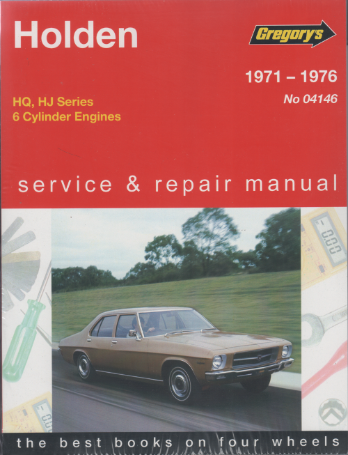 Holden HQ HJ 6 cyl 1971 1976 Gregorys Service Repair Manual