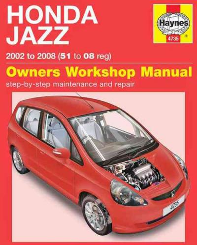 Honda Jazz 2002 2008 Haynes Service Repair Manual
