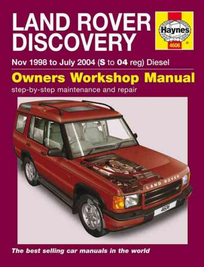 Land Rover Discovery Td5 Diesel Series 2 1998-2004