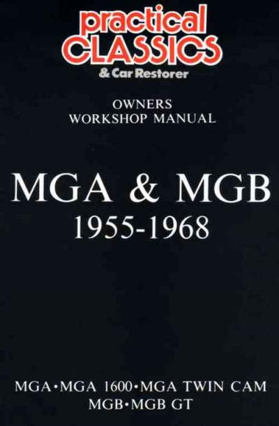 MG MGA MGB GT 1955 1968 Glovebox Service Repair Manual   Brooklands Books Ltd UK