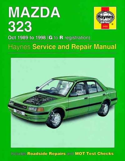 Mazda 323 1989 1998 Haynes Service Repair Manual