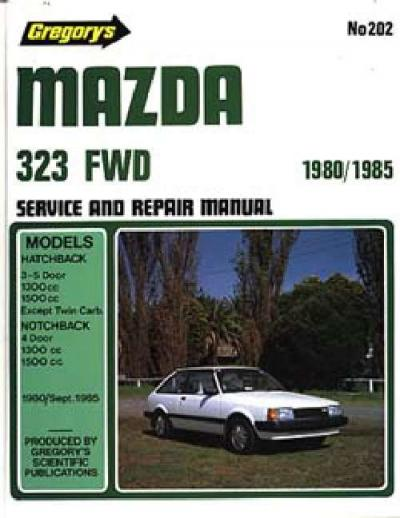 Mazda 323 FWD 1980 1985 Gregorys Service Repair Manual