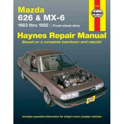 Mazda 626 MX6 FWD 1983 1992 Haynes Service Repair Manual