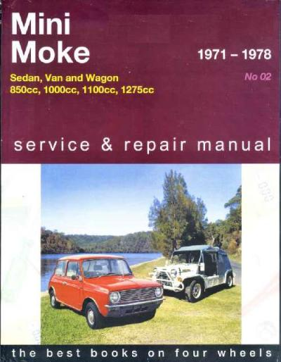 Mini And Moke 1971-1978 Gregorys Service Repair Manual