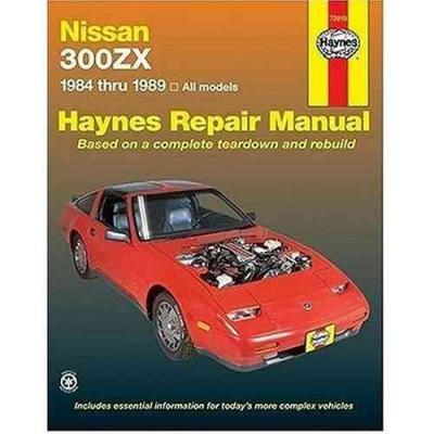 Nissan 300ZX Turbo Non Turbo models 1984 1989 Haynes Service Repair Manual