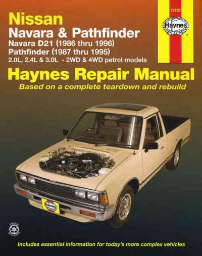 Nissan Navara D21 Pathfinder 1986 1996 Haynes Service Repair Manual