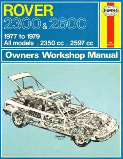 Rover 2300 2600 1977 1979 Haynes Service Repair Manual