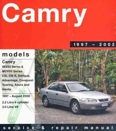 Toyota Camry 1997-2002 Gregorys Service Repair Manual