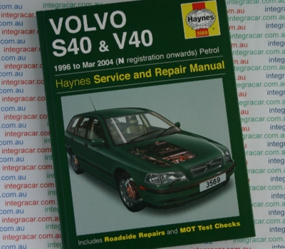 Volvo S40 and V40  Service and Repair manual Haynes 1996 - 2004  NEW
