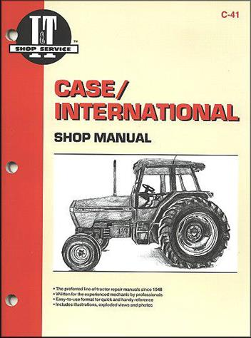 Case International Maxxum Diesel Farm Tractor Owners Service & Repair Manual