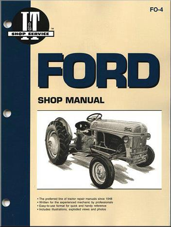 Ford New Holland Farm Tractor 1939 - 1952 Owners Service & Repair Manual