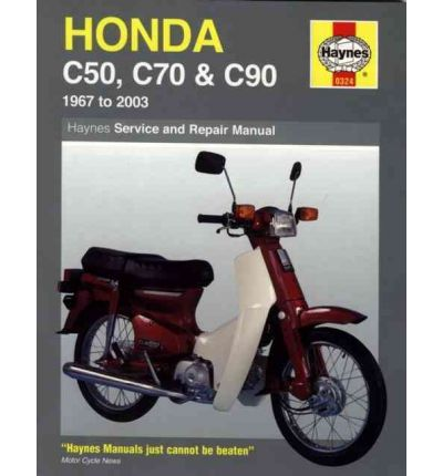 Honda C50, C70 and C90 Service and Repair Manual