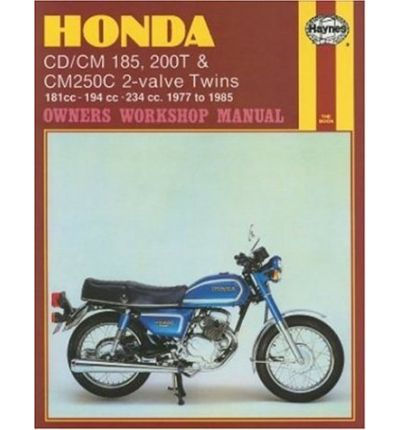Honda CD/CM185, 200 and CM250C Twins 1977-85 Owner's Workshop Manual