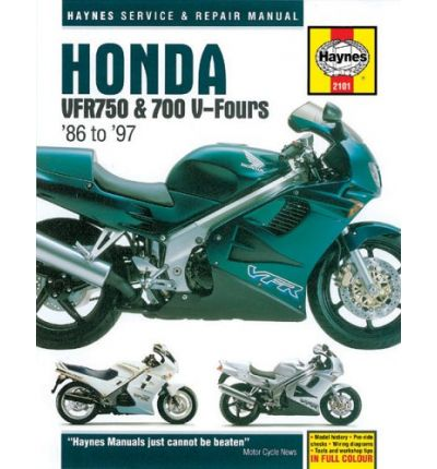Honda Vfr750 and 700 V-Fours 1986 Thru 1997