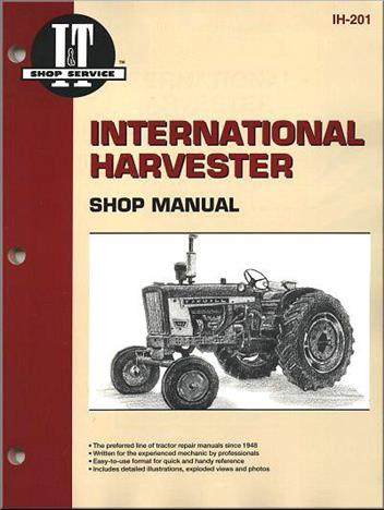 International Harvester Petrol & Diesel Tractor Owners Service & Repair Manual