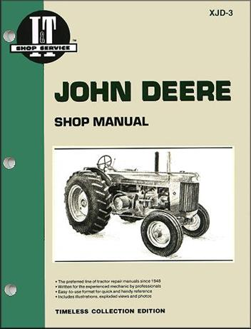 John Deere Farm Tractor (Model: R Diesel) Owners Service & Repair Manual