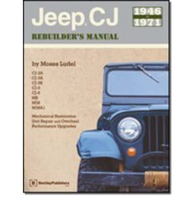 Jeep CJ Rebuilder's Manual 1846-71