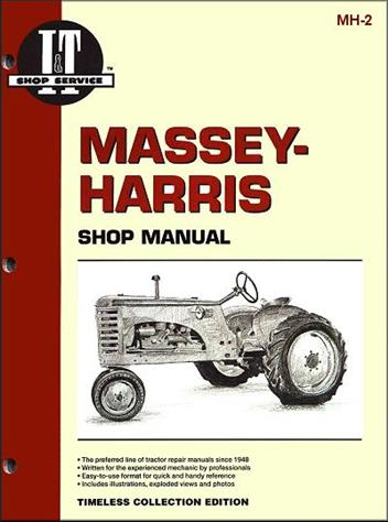 Massey-Harris Farm Tractor Owners Service & Repair Manual