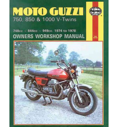 Moto Guzzi V-Twins Owner's Workshop Manual