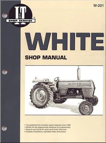 White Tractor Owners Service & Repair Manual
