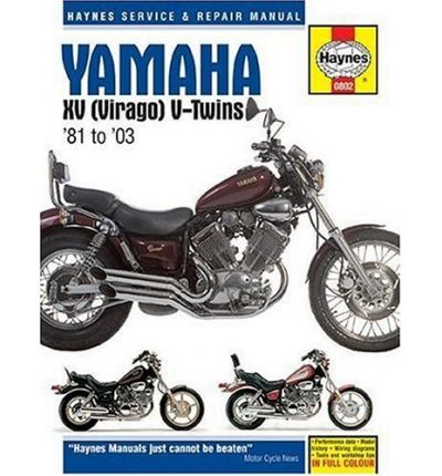 Yamaha XV Virago V-twins Service and Repair Manual