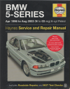 BMW 5 series Service and Repair manual Haynes 1996-2003 NEW