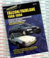 Ford Falcon Fairlane EA EB ED repair manual 1988-1994 NEW