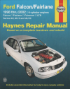 Ford Falcon Fairlane AU Series 1998 2002 Haynes Service Repair Manual