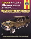 Toyota Hi Lux 4Runner Petrol 1979 1996 Haynes Service Repair Manual