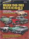 Holden FX FJ FE FC FB EK repair manual 1948 - 1963 Ellery NEW