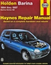 Holden Barina SB Series 1994-1997 Haynes Service Repair Manual