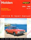 Holden Kingswood HX HZ repair manual 1977-1980 NEW