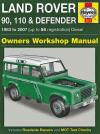 Land Rover 90 110 Defender Diesel 1983 2007 Haynes Service Repair Manual