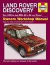 Land Rover Discovery Td5 Diesel Series 2 1998 2004