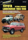 Toyota Landcruiser petrol FJ RJ series repair manual 1969-1990 Ellery NEW