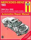 Mercedes Benz 190 1984 1988 Haynes Service Repair Manual
